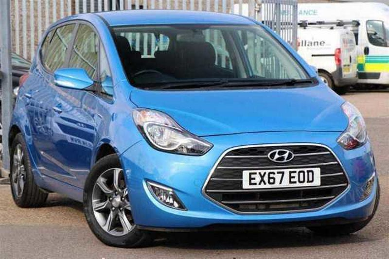 Hyundai Ix20 Hatchback Hyundai iX20 SE BLUEDRIVE 1.4 Gamma (5-speed M/T) 5-door wag
